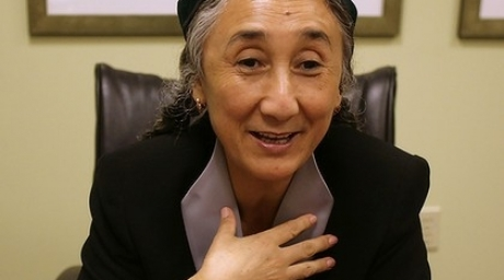 Uighur dissident Rebiya Kadeer. Photo courtesy of theage.com.au
