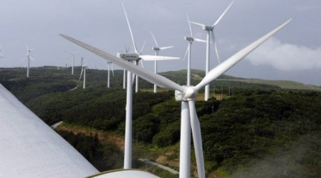 Wind power stations. ©AFP