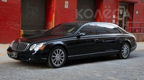 Maybach 62S. Photo courtesy of kolesa.kz
