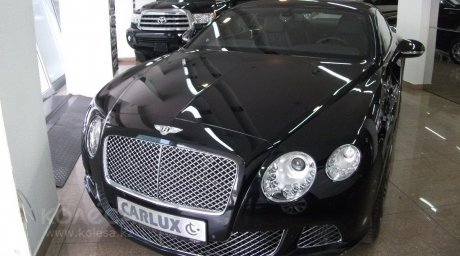 Bentley Continental. Photo courtesy of kolesa.kz