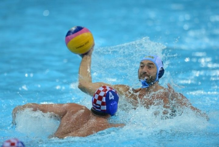 Olympics-2012. Water polo. Kazakhstab vs Croatia. ©AFP