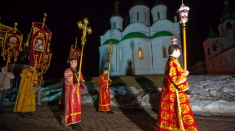 Procession of the Cross in Russia. ©RIA Novosti