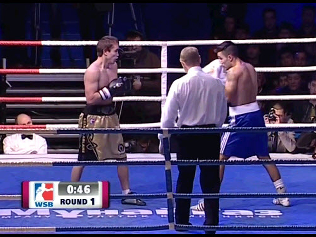 Yerzhan Mussafirov (Astana Arlans) vs. Robert Harutyunyan (German Eagles)