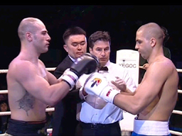 Light heavyweight: Ehsan Rouzbahani (Iran) vs Serge Michel (Germany) - 3:0 (50:45, 50:45, 50:45).