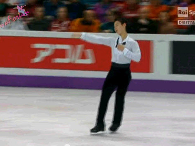 ISU WORLD 2013 - MEN FP -21/24- Denis TEN - 15.03.2013