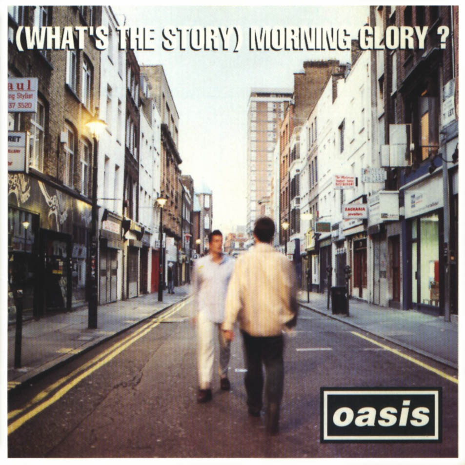 Oasis - (What's The Story) Morning Glory. Photo courtesy of rambursmann.blogspot.com